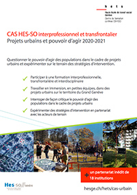 CAS Projets urbains HETS GE