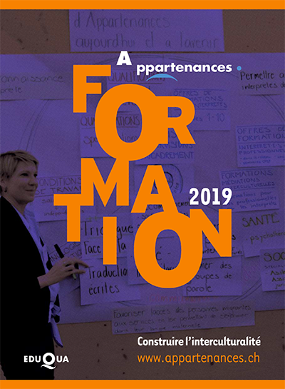Catalogue formation Appartenance 2019
