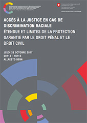 Colloque Justice Discrimination