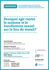 conference sexisme 2020