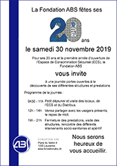 flyer 20 ans ABS